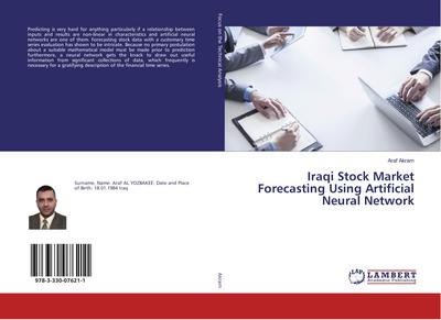 Iraqi Stock Market Forecasting Using Artificial Neural Network