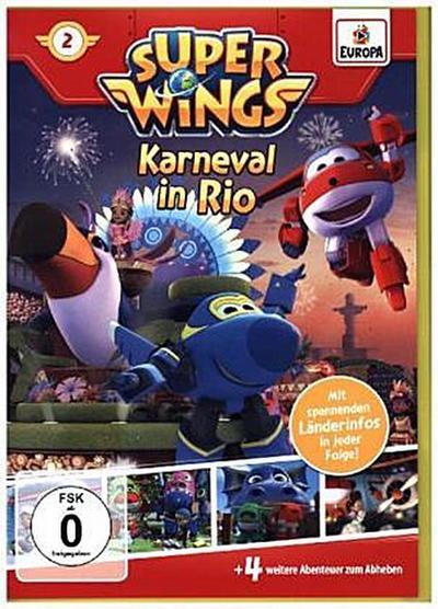 Super Wings - Karneval in Rio, 1 DVD