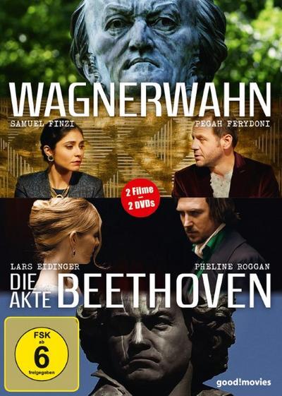 Wagnerwahn / Die Akte Beethoven DVD-Box