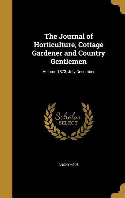 JOURNAL OF HORTICULTURE COTTAG