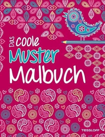 Das coole Muster-Malbuch; Malbücher und -blöcke; Ill. v. Eckel, Jessie; Deutsch; s/w