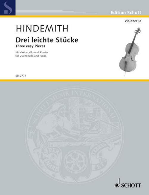 Drei leichte Stücke Paul Hindemith