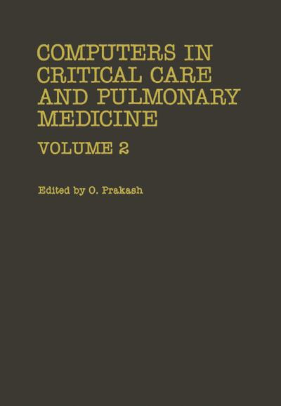 Computers in Critical Care and Pulmonary Medicine