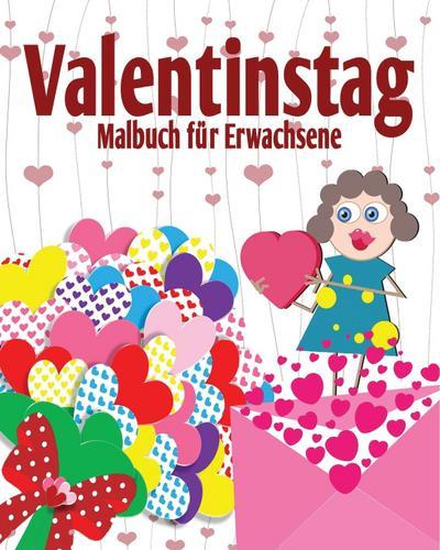 Valentinstag Malbuch fur Erwachsene