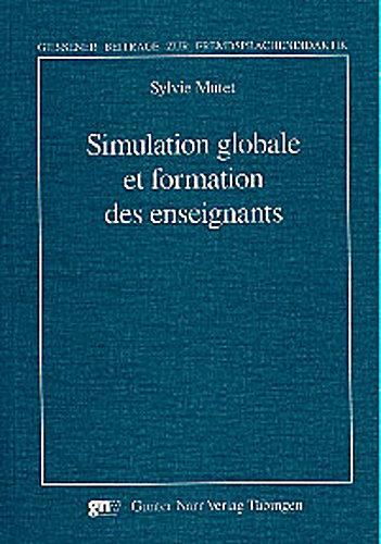 Simulation globale et formation des enseignants Sylvie Mutet