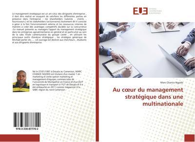 Au coeur du management stratégique dans une multinationale