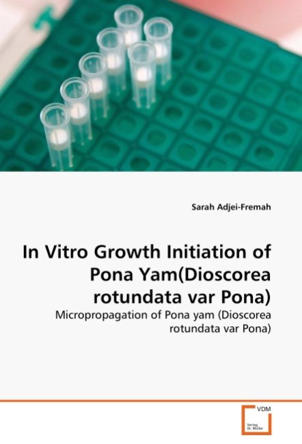 Sarah Adjei-Fremah / In Vitro Growth Initiation of Pona Yam( ... 9783639362800
