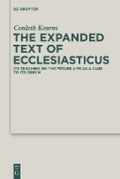 The Expanded Text of Ecclesiasticus