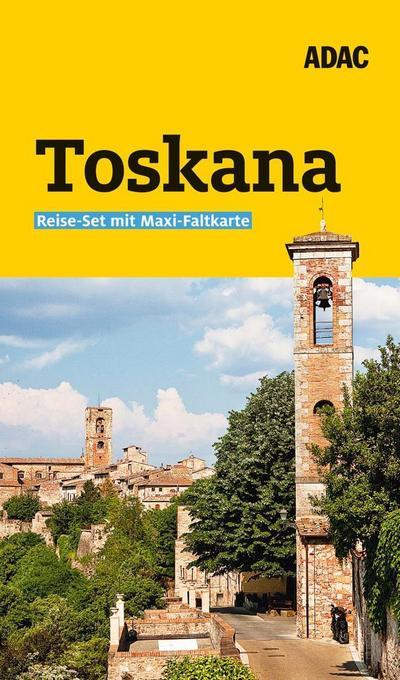 ADAC Reiseführer plus Toskana: mit Maxi-Faltkarte zum Herausnehmen