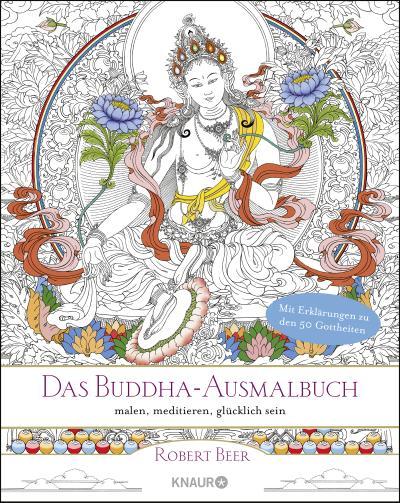 Das Buddha-Ausmalbuch