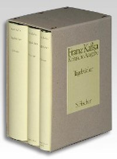 Tagebücher. Kritische Ausgabe. Textband / Apparatband / Kommentarband
