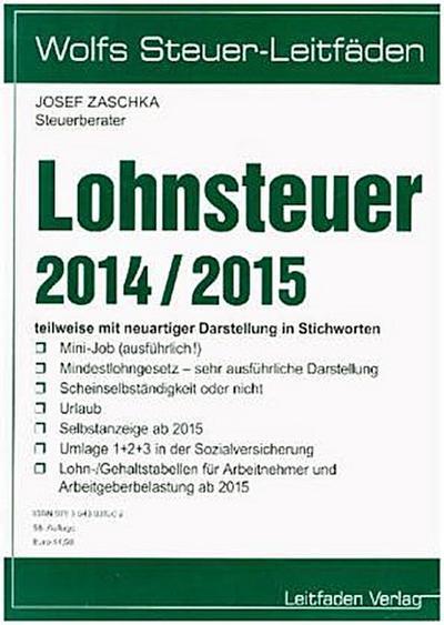 lohnsteuer-2014-2015