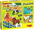 HABA Puzzles Bauernhoftiere (Kinderpuzzl ...