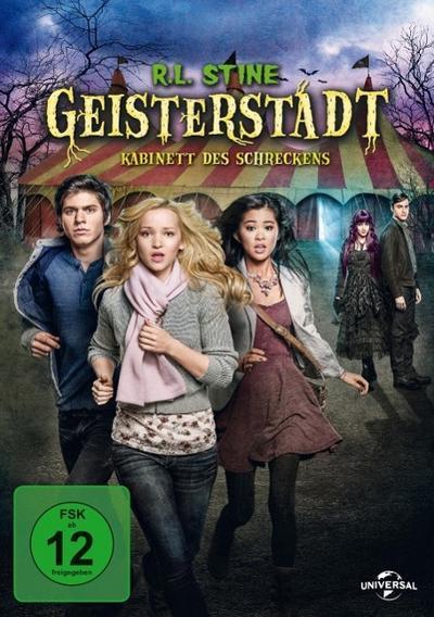 R.L. Stine Geisterstadt - Kabinett des Schreckens