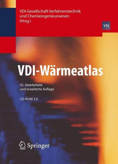 VDI-Wärmeatlas, Ordner m. CD-ROM