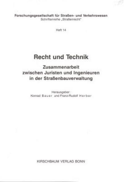 Recht und Technik