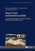 Kurze Texte und Intertextualität