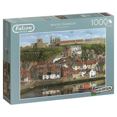 Around Britain Whitby Harbour - Puzzle 1000 Teile