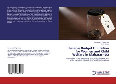 Reserve Budget Utilization for Women and Child Welfare in Maharashtra