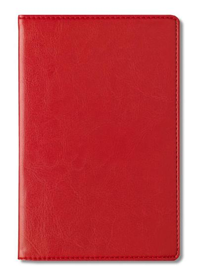 Adressbuch Glamour Red