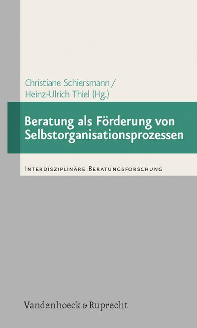 Beratung als Förderung von Selbstorganisationsprozessen