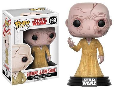 Pop Star Wars E8 Supreme Leader Snoke Vinyl Figure