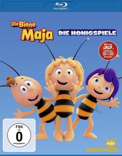Die Biene Maja - Die Honigspiele BD 3D
