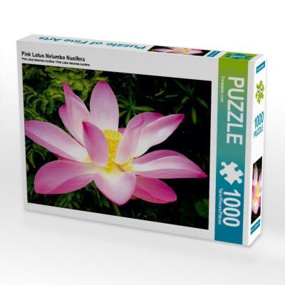 Pink Lotus Nelumbo Nucifera (Puzzle)