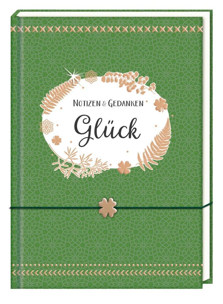Notizbuch 'Notizen und Gedanken Glück'
