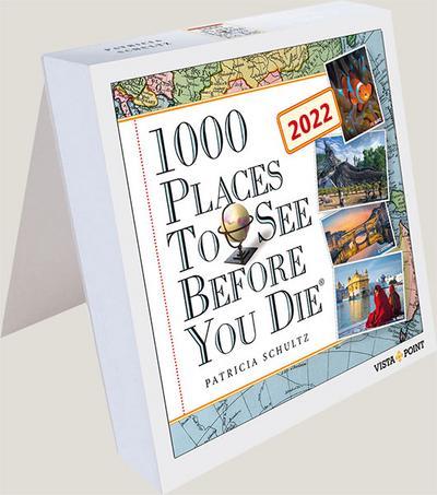 1000 Places to see before you die 2022 Tageskalender - In 365 Tagen um die Welt