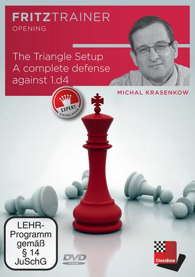 Michal Krasenkov: The Triangle Setup. A complete defense against 1.d4