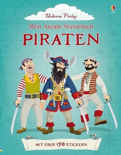 Mein Anzieh-Stickerbuch: Piraten