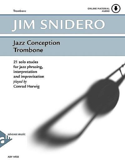 Jazz Conception Trombone, w. Audio-CD