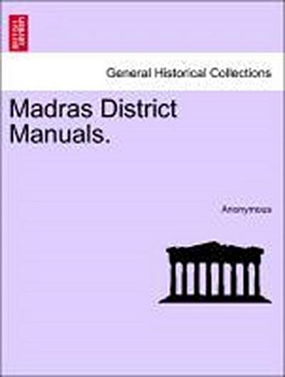 Madras District Manuals. VOLUME II