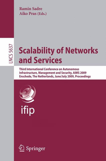 Scalability of Networks and Services, Ramin Sadre