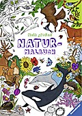 Mein großes Natur-Malbuch; Ill. v. Bunse, Rolf/Lenz, Gudrun; Deutsch; durchg. farb. u. schw.-w. Ill.
