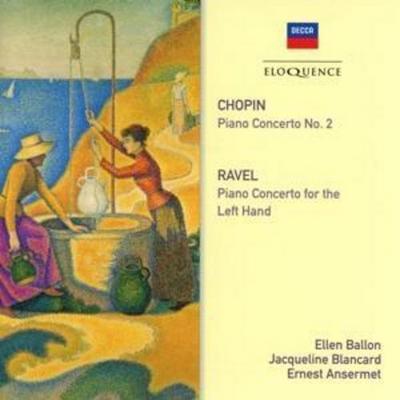 Ansermet dirigiert französische Klavierkonzerte