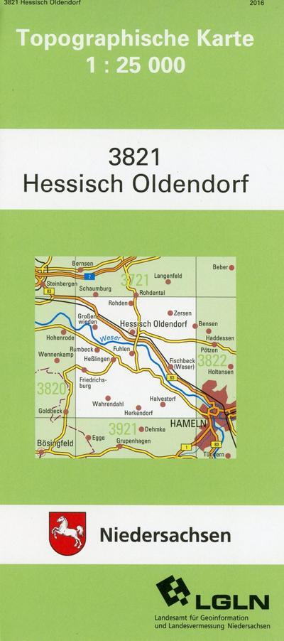 Hessisch Oldendorf 1 : 25 000. (TK 3821/N)