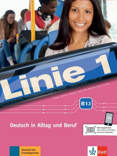 Linie 1 B1.1. Kurs- und Übungsbuch mit DVD-ROM