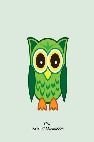 Owl Writing Notebook: Handwriting Practice Activity Book Kids Owl Journal