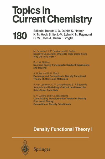 Density Functional Theory I