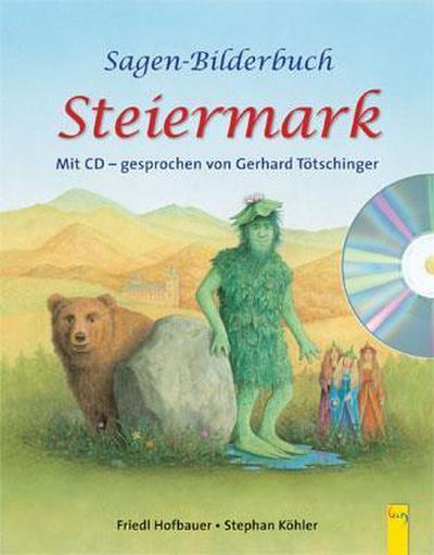 Sagen-Bilderbuch Steiermark mit CD