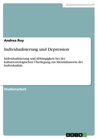 Individualisierung und Depression