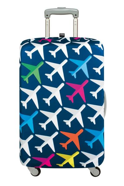 LOQI AIRPORT Airplane Luggage Cover - Kofferhülle - LOQI Gmbh - Textilien, Deutsch, , ,