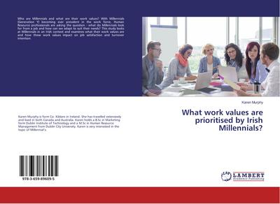 What work values are prioritised by Irish Millennials?