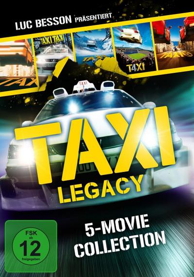 Taxi Legacy - 5 Movie Collection