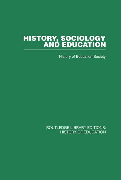 History, Sociology and Education