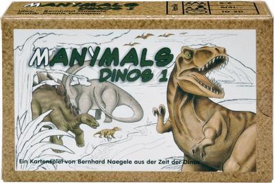 Manimals (Kartenspiel), Dinos 1