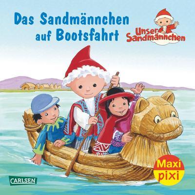 Das Sandmännchen auf Bootsfahrt