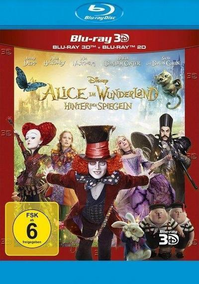 Alice im Wunderland: Hinter den Spiegeln (3D+2D) - Ablöseprodukt, Blu-ray